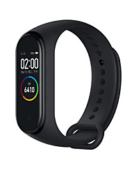 Недорогие -Оригинал xiaomi mi band 4 amoled цветной экран браслет Bluetooth 5.0 135 мАч аккумулятор фитнес-трекер умные часы