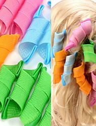 Недорогие -щипцы для завивки волос магия бигуди портативные прически укладка макияж инструменты прическа