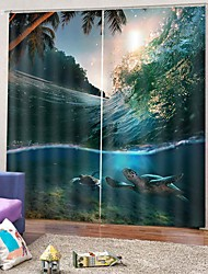 Недорогие -Китайский стиль роскошные прочные шторы утолщение плотные шторы для гостиной спальни красочный фон занавес готовые