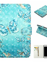 cheap -Case For Apple iPad mini 5/New Air(2019) Auto Sleep /Wake Up / Magnetic / with Stand Full Body Cases Butterfly Hard PU Leather for iPad Pro 9.7''/ iPad (2017)/Pro 10.5/iPad 2/3/4/5/6/mini 1/2/3/4/2018