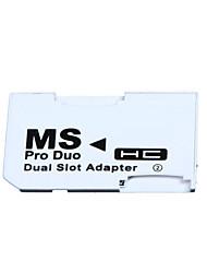 Недорогие -2 microSD / Micro SDHC карты адаптер Micro SD TF для карты памяти MS Pro Duo