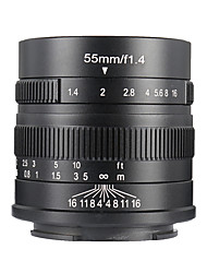 Недорогие -7Artisans Объективы для камер 7Artisans 55mmF1.4M43-BforФотоаппарат