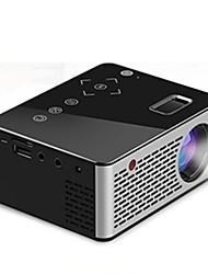 Недорогие -Unic T200 мини портативный проектор домашний HD детский проектор для домашнего кинотеатра мультимедийный проигрыватель совместимый HDMI / USB / DC / AV / TF карта черный