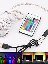 Недорогие -Loende 5 В USB Power 2 м светодиодные полосы света RGB / белый / теплый белый 2835SMD HDTV ТВ настольного ПК подсветка экрана&усилитель; смещение освещения