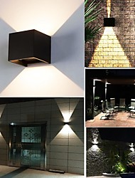 Недорогие -ONDENN 10 W LED прожекторы Декоративная Тёплый белый / Холодный белый 85-265 V Жилой / На открытом воздухе / Гостиная / столовая 2 Светодиодные бусины