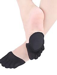 Недорогие -1 пара Жен. Носки Однотонный Формирование ног Простой стиль Смесь хлопка EU36-EU42