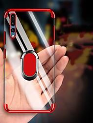Недорогие -покрытие мягкой тпу прозрачный противоударный чехол для huawei p30 pro p30 lite p30 p20 pro p20 lite p20 p10 plus p10 lite p10 чехол палец кольцо крышка