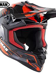 Недорогие -зоман бренд мотокросс шлем женщины мужчина mtb скоростной спорт ультралегкие мотоциклетные шлемы sm633