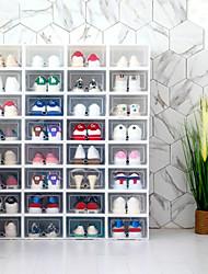 Недорогие -4шт Коробки для хранения Пластик Аксессуар для хранения Умный дом