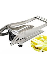 Недорогие -Нержавеющая сталь + пластик Инструменты Столовая и кухня Инструменты Главная Кухня инструмент Творческая кухня Гаджет Кухонная утварь Инструменты Необычные гаджеты для кухни Картошка 1шт