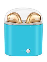Недорогие -i7s tws mini bluetooth беспроводные наушники наушники с зарядной коробкой спортивные гарнитуры android audifonos для всех умных мобильных телефонов
