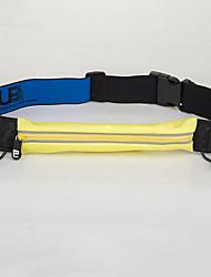 Недорогие -Поясная сумка Талия сумка / пакет для Спортивные сумки Водонепроницаемость Лампа дневного света Прочный Сумка для бега Lycra® Универсальные Взрослые