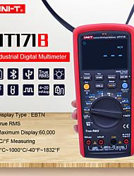 Недорогие -uni-t ut171b промышленный истинный среднеквадратичный цифровой мультиметр переменный ток вольтметр амперметр емкостный частотомер 60 кб счетчик ebtn дисплей