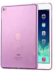 Недорогие -Кейс для Назначение Apple iPad Air / iPad 4/3/2 / iPad Pro 10.5 Защита от удара / Защита от пыли Кейс на заднюю панель Однотонный Мягкий ТПУ / силикагель