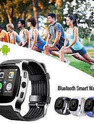 Недорогие -Mt08 Smart Watch Bluetooth Поддержка фитнес-трекер уведомить / монитор сердечного ритма / SIM-карты спортивные SmartWatch