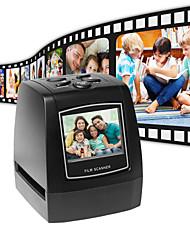 Недорогие -фото сканер ультра высокого разрешения 35/135 мм слайд-пленка цифровой сканер конвертер пленок usb 2.36 жк-экран сканер визитных карточек