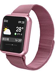 Недорогие -P68 Smart Watch BT Поддержка фитнес-трекер уведомлять и совместимый с пульсометром телефоны Apple / Samsung / Android