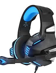 Недорогие -Kotion каждый G7500 игровая гарнитура наушники со светодиодным микрофоном бас-наушники для нового ноутбука Xbox One PS4 ноутбук ПК геймер Casque