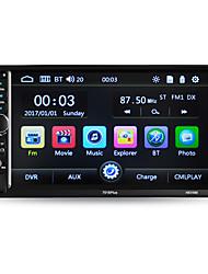 Недорогие -Hevxm 7010plus 7-дюймовый 2-дюймовый автомобильный MP5-плеер с сенсорным экраном / встроенный Bluetooth / радио для универсальной поддержки Bluetooth RM / RMVB / MP4 MP3 / WAV / OGG JPG