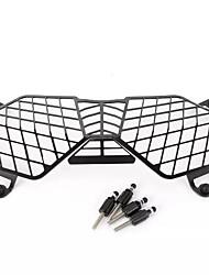 Недорогие -черный мотоцикл фара решетка света крышка защитная крышка протектор для триумфа тигра 800 2010-2017 explorer 1200 2012-2017