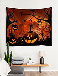 Недорогие -хэллоуин декор для стен 100% полиэстер современный / новогодний декор стен, гобелены