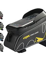 Недорогие -Сотовый телефон сумка Бардачок на раму 6 дюймовый Сенсорный экран Водонепроницаемость Отверстие для гарнитуры Велоспорт для Велосипедный спорт Красный Синий Зеленый / 600D полиэстер