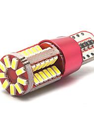Недорогие -Автомобиль t10 led 192 w5w супер яркий 57smd canbus без ошибок автомобильный маркер авто клин габаритные огни лампочка габаритные огни боковой свет