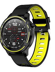 billige -bozhuo l8 mænd smart armbånd smartwatch android ios bluetooth vandtæt berøringsskærm hjertefrekvens monitor blodtryksmåling sports ecg plus ppg stopur skridttæller opkald påmindelse sove tracker