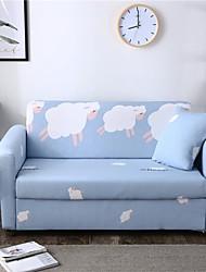 Недорогие -чехлы на диваны из овечьей шерсти с принтом комбинаторные мягкие эластичные чехлы из полиэстера