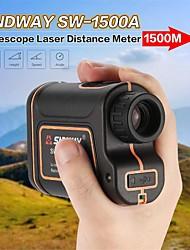 Недорогие -SNDWAY SW-1500A 5~1500M Гольф лазерные дальномеры Многофункциональный / Авто отключение / AirPlay Для спорта / для наружного измерения