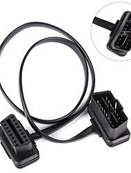 Недорогие -60см диагностический кабель удлинитель obd2 obd2 16-контактный 8core разъем OBD II