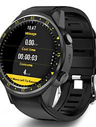 Недорогие -Муж. Спортивные часы Цифровой Современный Спортивные силиконовый 30 m Защита от влаги Bluetooth Smart Цифровой На каждый день На открытом воздухе - Черный Красный Синий