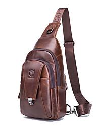 Недорогие -(bullcaptain) мужская кожаная сумка через плечо / модная многофункциональная спортивная повседневная сумка