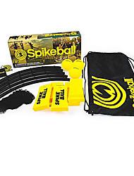 Недорогие -Spikeball 3 Ball Kit 3 Мячи Играть в сеть Сумка на шнурке Ластик Веселье Регулируется Пригодно для носки На открытом воздухе Волейбол На открытом воздухе Командные виды спорта Для Универсальные
