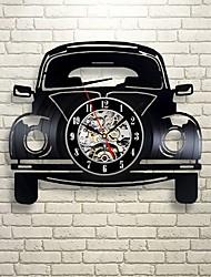 Недорогие -настенные часы на ретро виниле - украсьте свой дом современным искусством - подарок для детей