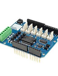 Недорогие -L298N L298P двухканальный моторный щит R3 модуль драйвера двигателя для Arduino