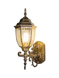 Недорогие -наружный настенный светильник новый дизайн современный современный настенный светильник для наружного / внутреннего освещения алюминиевые настенные светильники