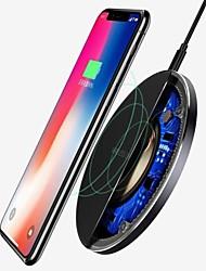 Недорогие -Для Samsung Galaxy S8 S9 S10 плюс Ци беспроводное зарядное устройство быстрой зарядки док мат коврик