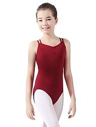 tanie -Dziecięca odzież do tańca / Balet Body Dla dziewczynek Szkolenie Bawełna Materiały łączone Trykot opinający ciało / Śpiochy dla dorosłych