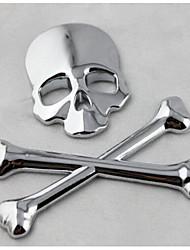 Недорогие -универсальный черный череп каратель стайлинга автомобилей эмблема наклейка значок стикер