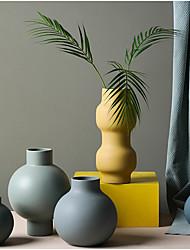 Недорогие -1шт Вазы и корзины Круглые Нерегулярная форма Керамика Настольная