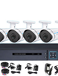 Недорогие -Комплект оборудования для мониторинга видеорегистраторов ahd 8ch Комплект HD-камеры ночного видения с инфракрасным монитором 2 миллиона