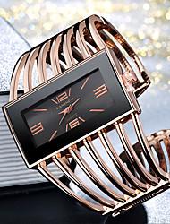 Недорогие -Жен. Дамы Часы-браслет золотые часы Кварцевый Серебристый металл / Золотистый / Розовое золото Повседневные часы Cool Крупный циферблат Аналоговый Мода Элегантный стиль - / Один год / Один год