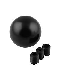 Недорогие -рычаг переключения передач комплект универсальный автомобиль рычаг переключения передач круглая форма шара черный
