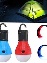 Недорогие -Походные светильники и лампы 60 lm Светодиодная лампа излучатели 3 Режим освещения Мини Экстренная ситуация Маленький размер