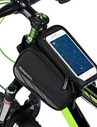 Недорогие -Сотовый телефон сумка 6.2 дюймовый Велоспорт для iPhone 8/7/6S/6 iPhone 8 Plus / 7 Plus / 6S Plus / 6 Plus iPhone X Черный Велосипедный спорт / Велоспорт