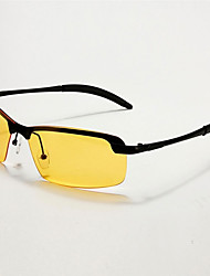 Недорогие -элитного ночного видения поляризованный uv400 безопасные очки для вождения очки авиатора