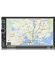 Недорогие -7-дюймовый сенсорный экран автомобиля Bluetooth MP5-плеер автомобиля 2 DIN MP4 / GPS навигация 8802 старая модель с камерой