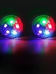 Недорогие -2 шт. / Компл. 5led двери автомобиля сигнальная лампа безопасно вспыхивает фары водонепроницаемый сигнальная лампа
