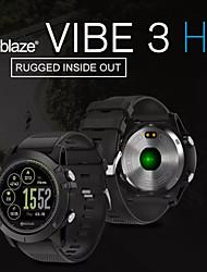 Недорогие -Zeblaze Vibe 3-х часовые смарт-часы Bt Фитнес-трекер Поддержка уведомлений / монитор сердечного ритма Спорт в режиме ожидания SmartWatch совместимые телефоны IOS / Android
